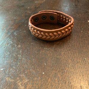 Men's/Women's BoHo leather bracelet
